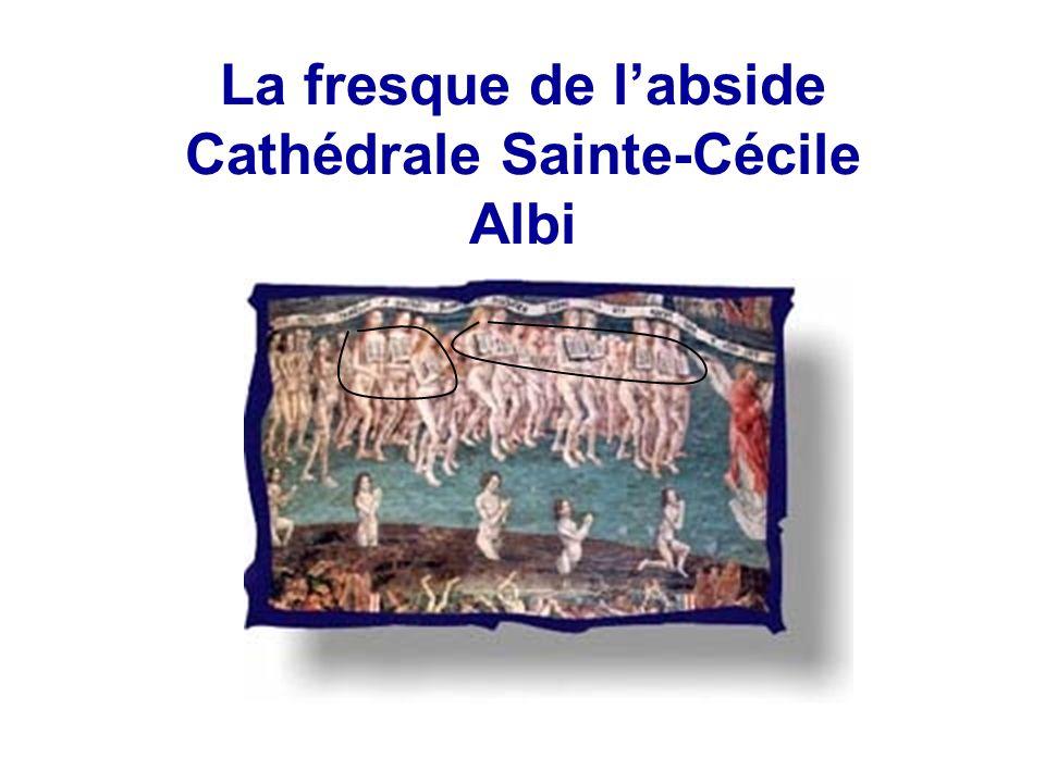 La fresque de l'abside Cathédrale Sainte-Cécile Albi