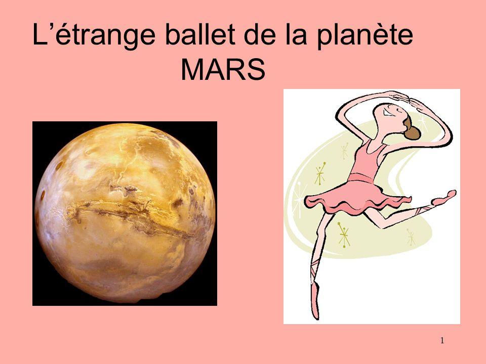 L'étrange ballet de la planète MARS