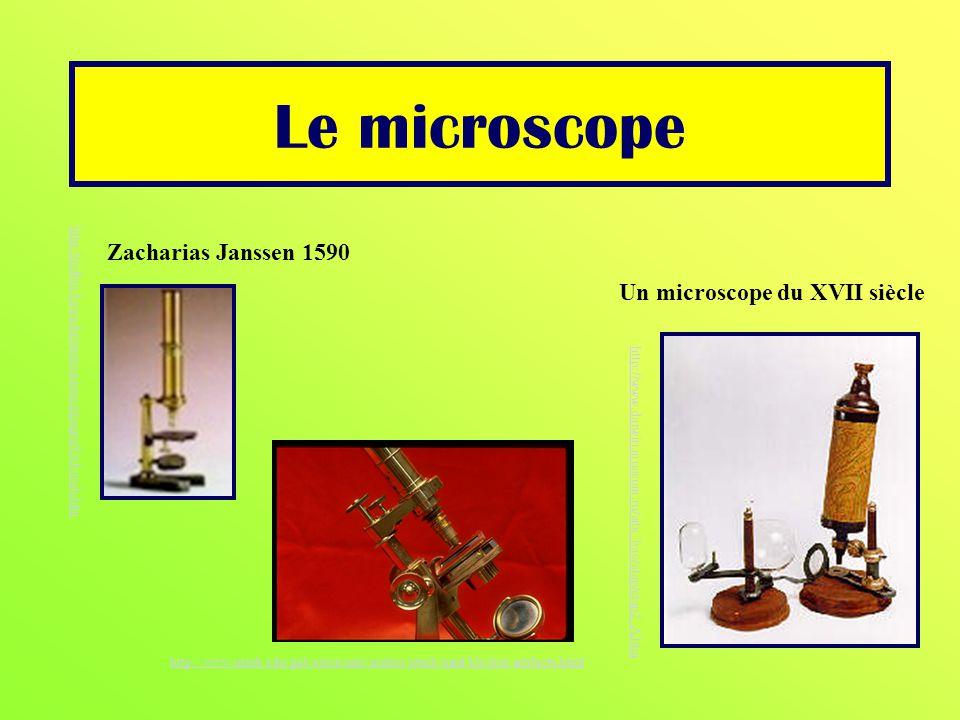 Un microscope du XVII siècle