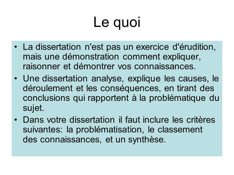 reussir une dissertation Cours bien réalisé sur la dissertation comment réussir une dissertation + exemple qui est le marquis de sade by ahmad-167972 in types school work.