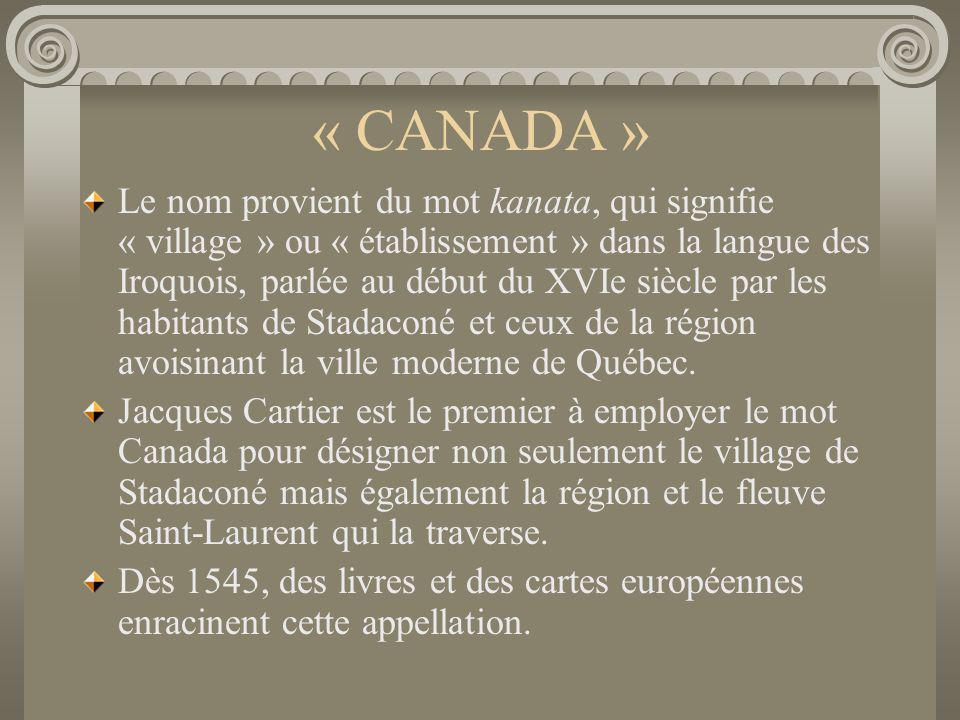 « CANADA »