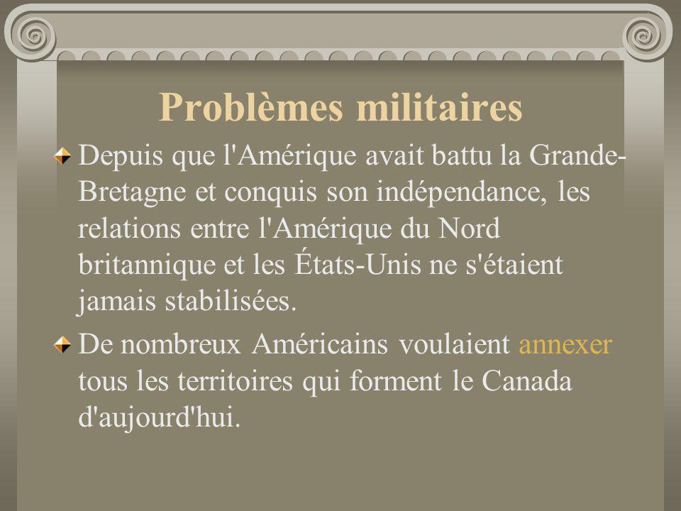 Problèmes militaires