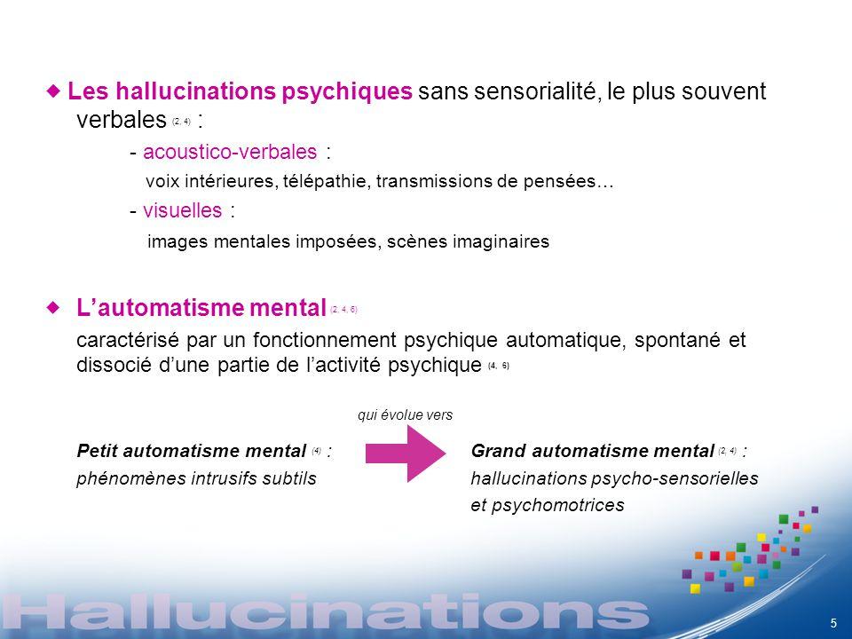 L'automatisme mental (2, 4, 6)