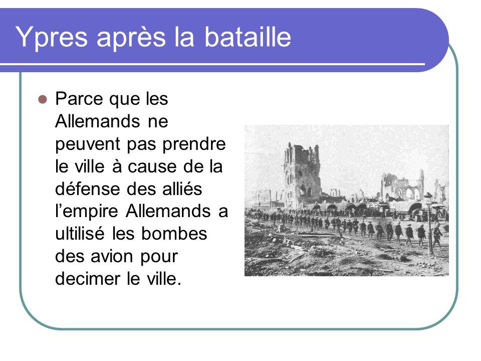 Ypres après la bataille