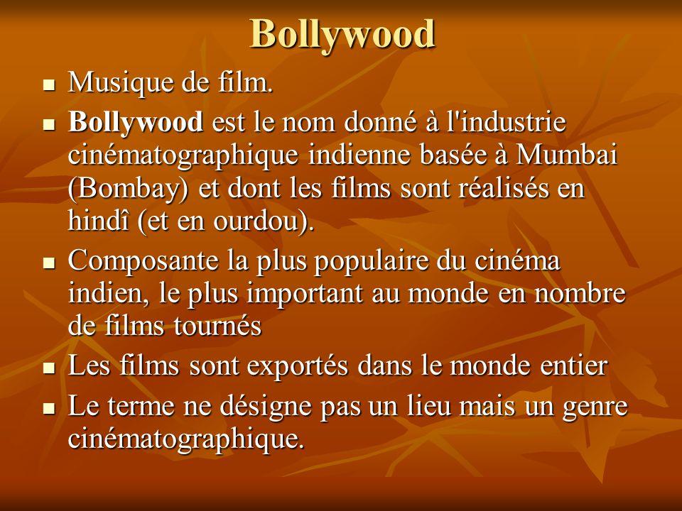 Bollywood Musique de film.