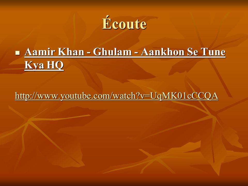Écoute Aamir Khan - Ghulam - Aankhon Se Tune Kya HQ