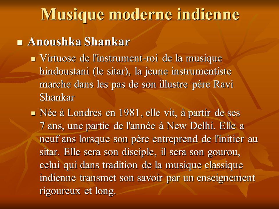 Musique moderne indienne