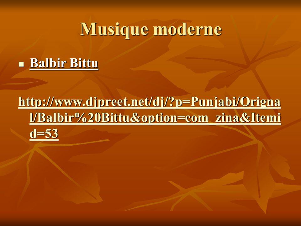 Musique moderne Balbir Bittu