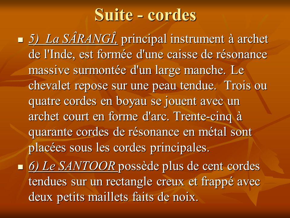 Suite - cordes