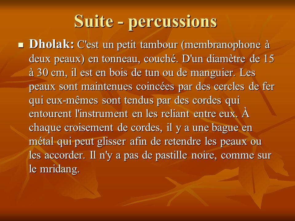 Suite - percussions