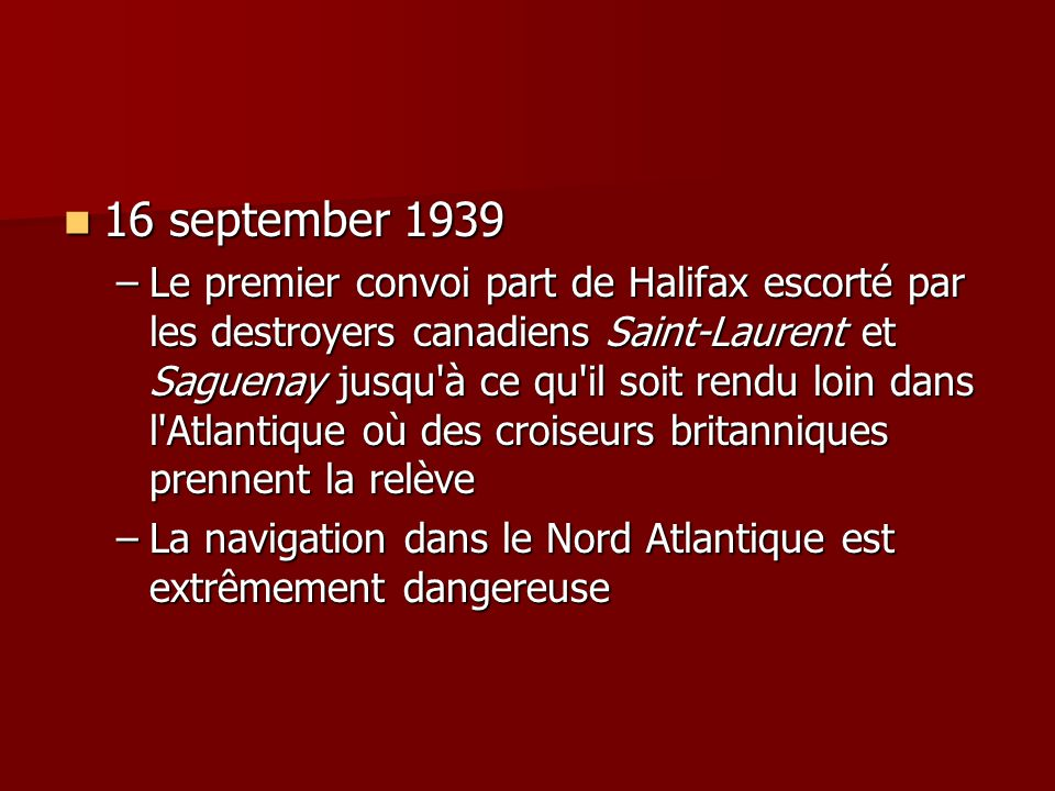 16 september 1939