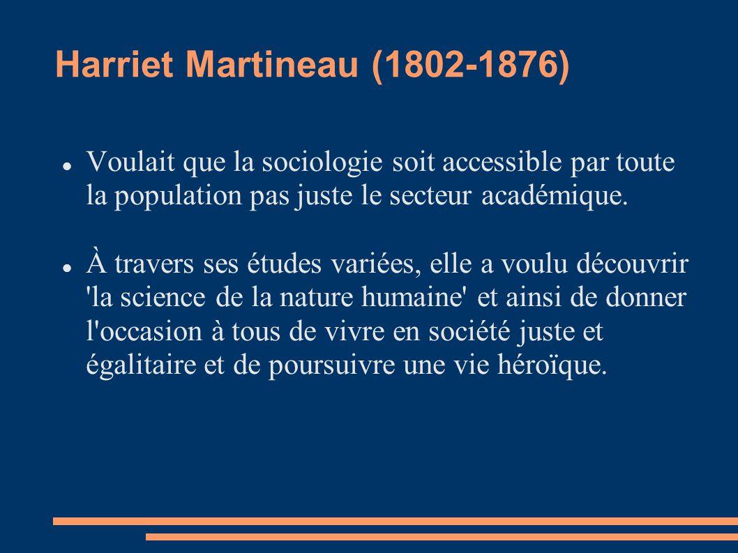 Harriet Martineau (1802-1876)