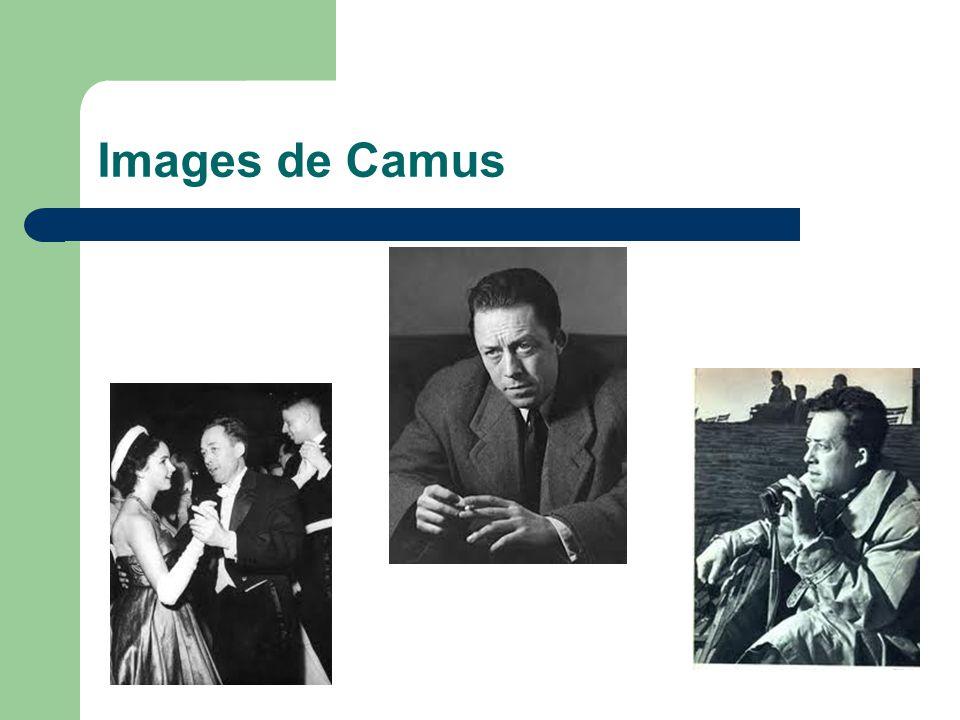 Images de Camus