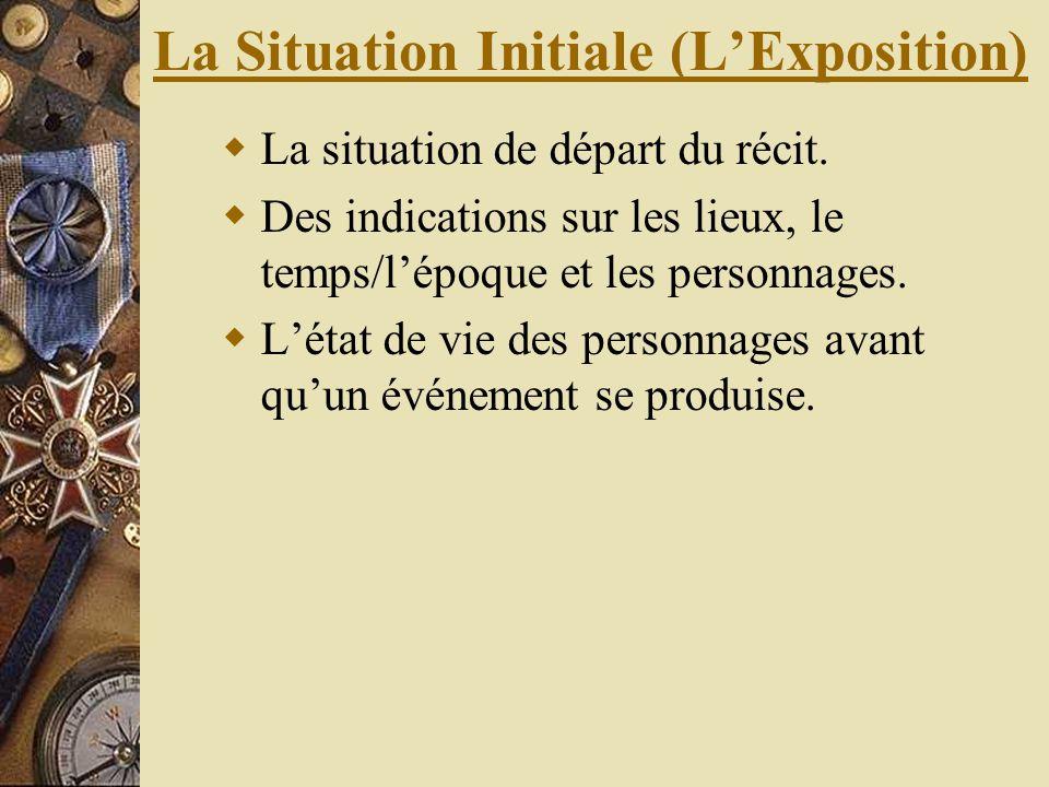 La Situation Initiale (L'Exposition)