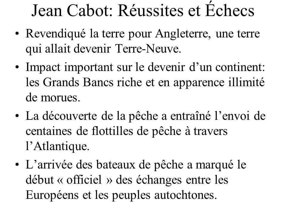 Jean Cabot: Réussites et Échecs