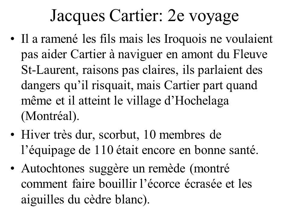 Jacques Cartier: 2e voyage