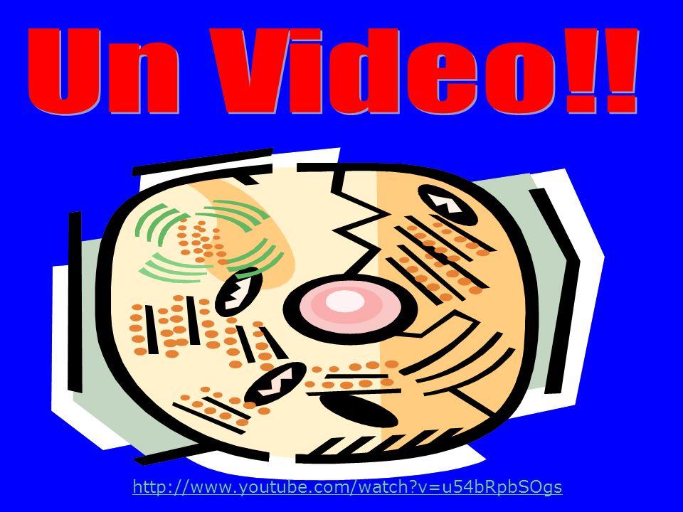 Un Video!! http://www.youtube.com/watch v=u54bRpbSOgs