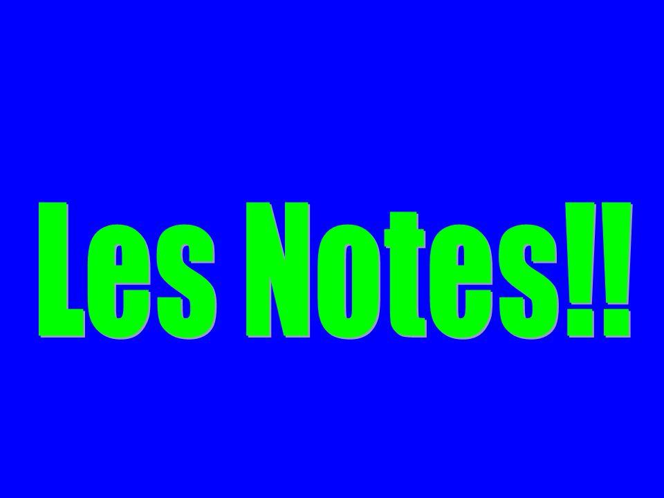 Les Notes!!