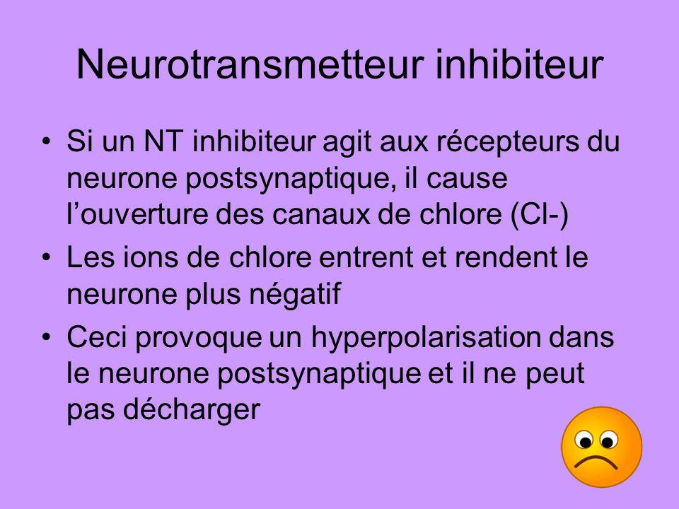 Neurotransmetteur inhibiteur