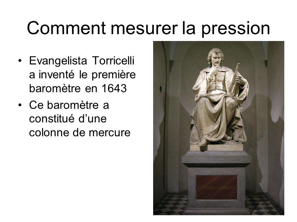 Comment mesurer la pression