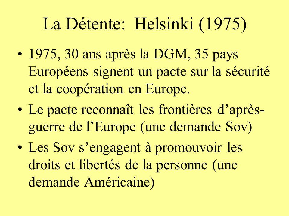 La Détente: Helsinki (1975)