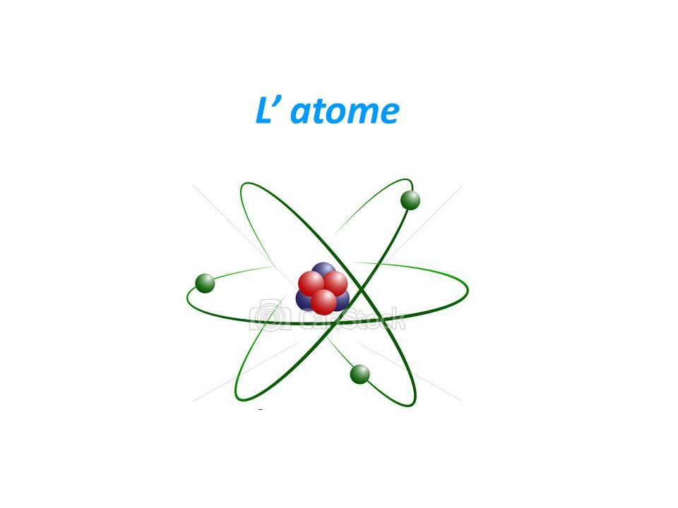 L' atome