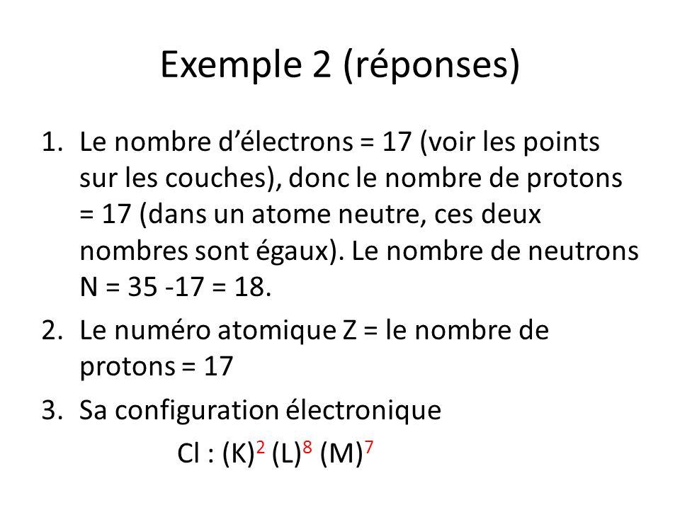 Exemple 2 (réponses)