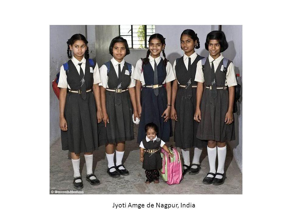 Jyoti Amge de Nagpur, India