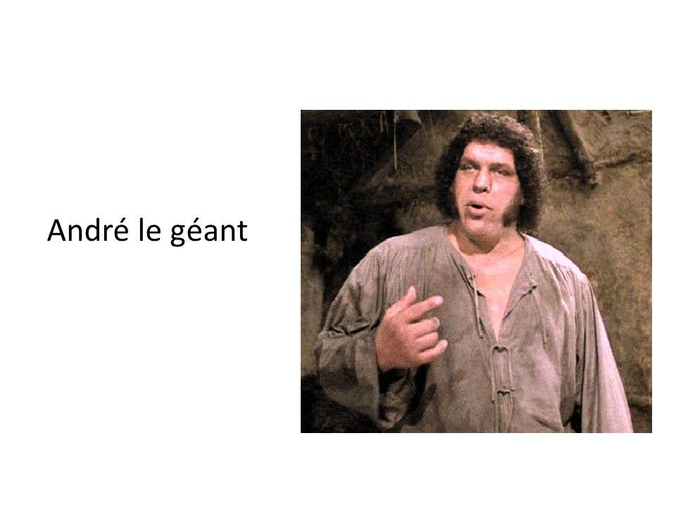 André le géant