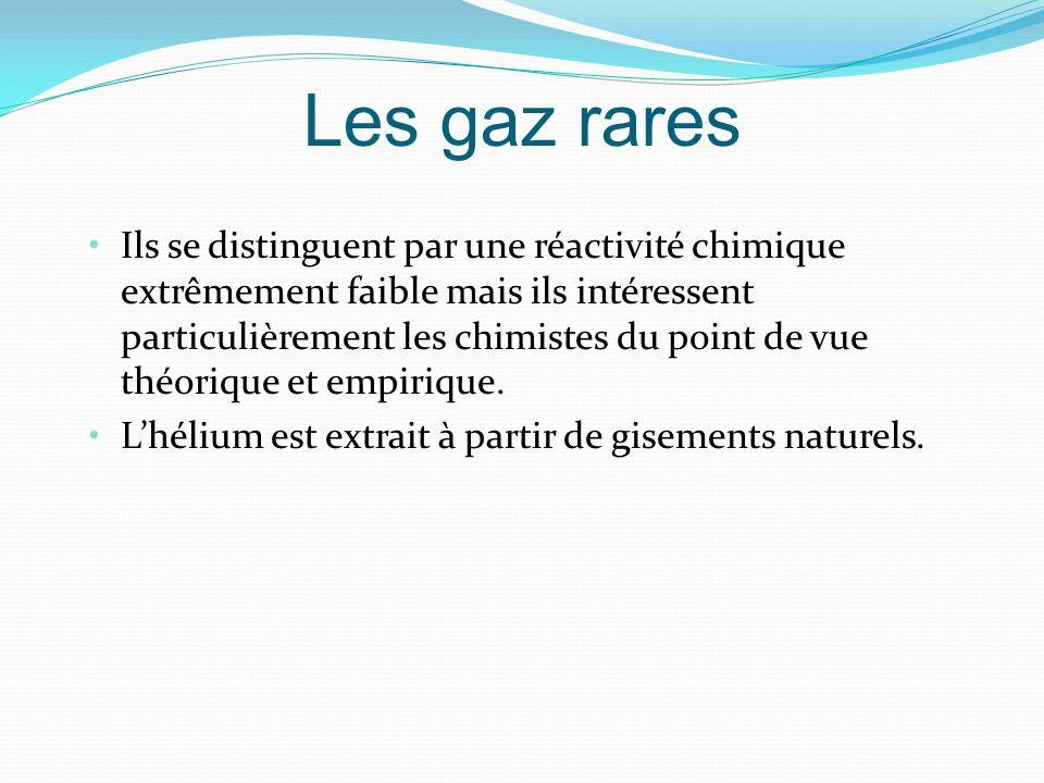 Les gaz rares