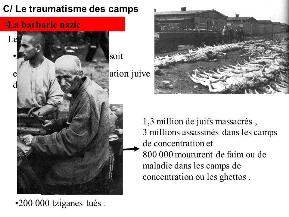 C/ Le traumatisme des camps