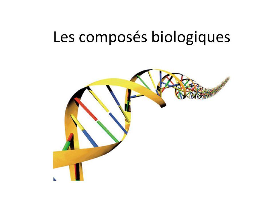 Les composés biologiques