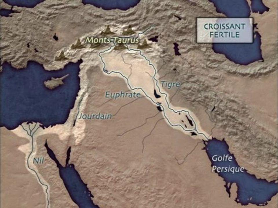 L une des régions les plus propices à ce mode de vie était le Croissant Fertile au Proche-Orient, qui va de l Irak actuel au delta du Nil.