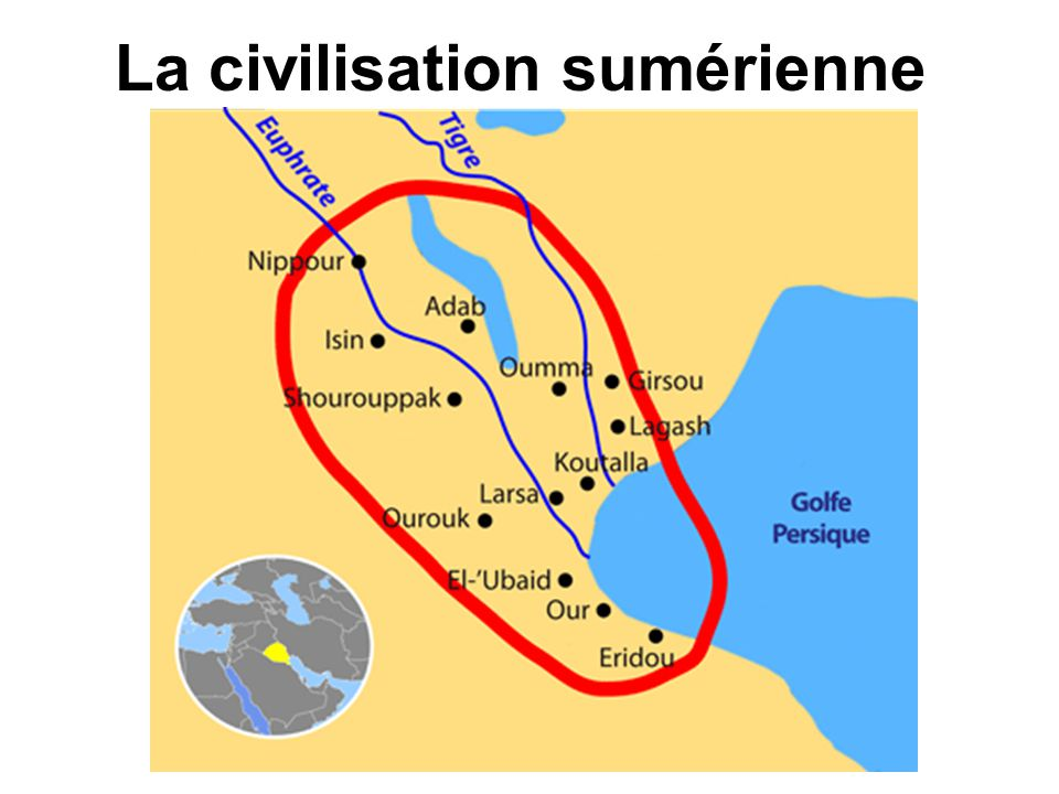 La civilisation sumérienne