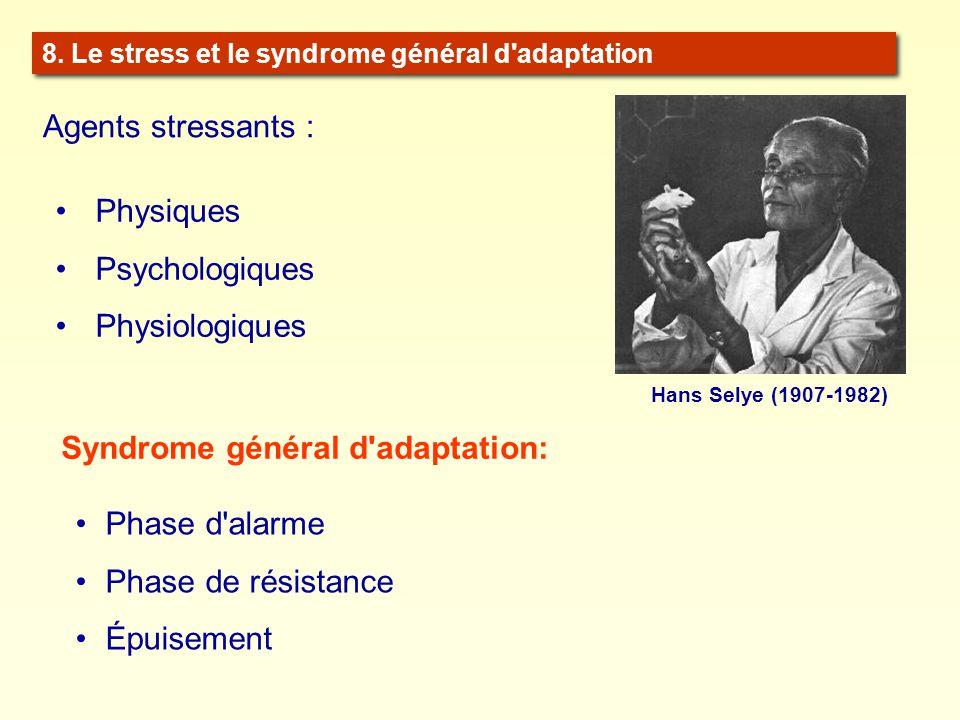 Syndrome général d adaptation: