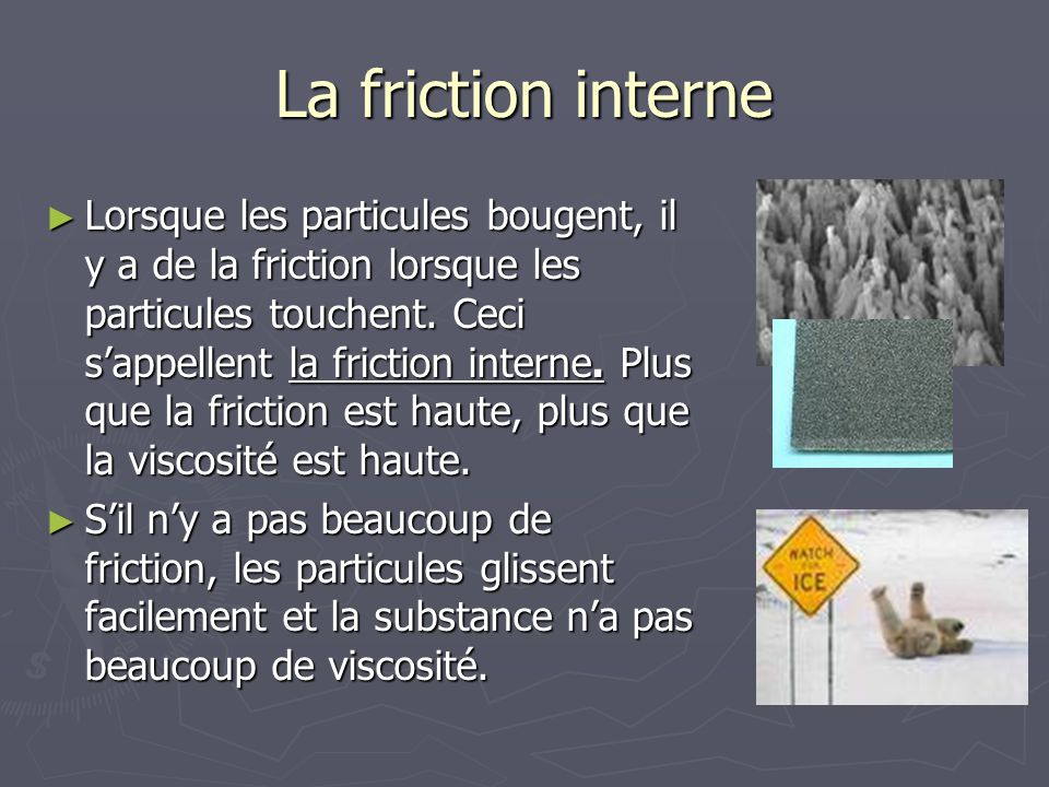 La friction interne