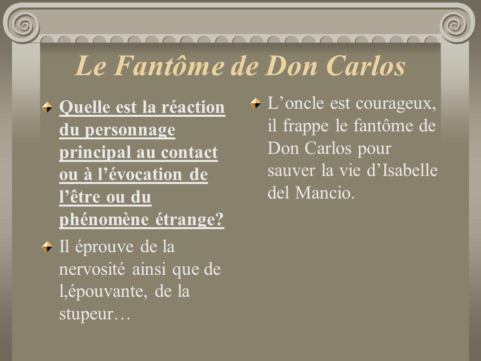 Le Fantôme de Don Carlos
