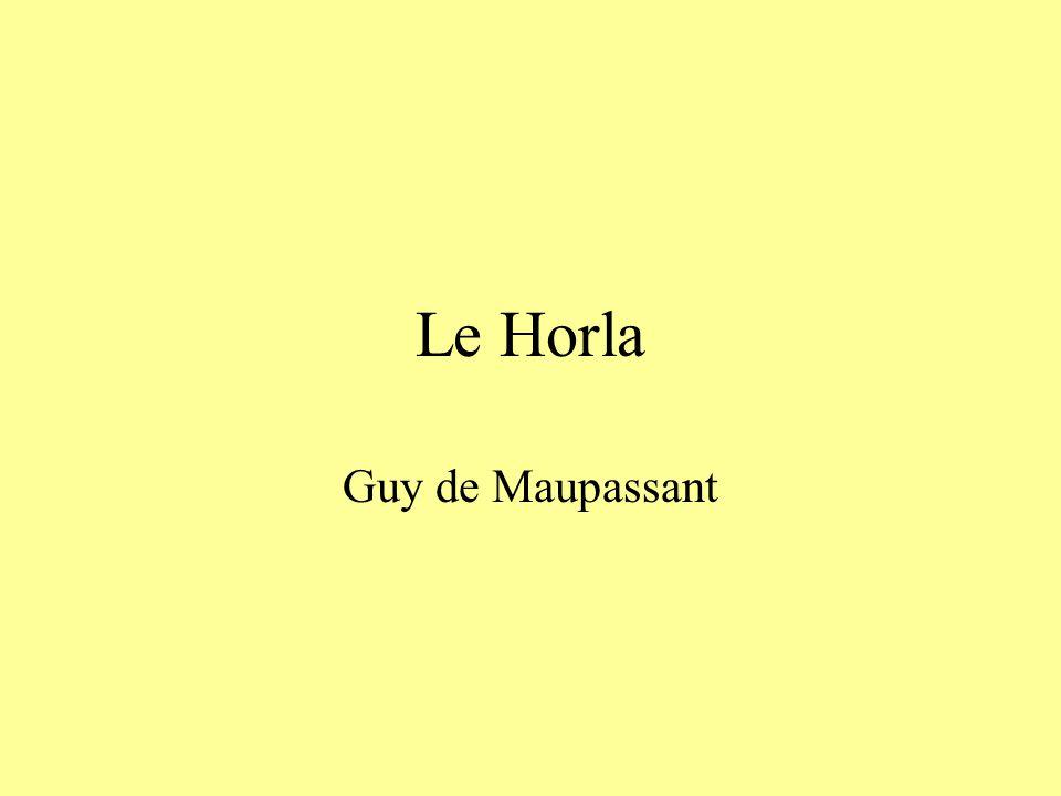 Le Horla Guy de Maupassant
