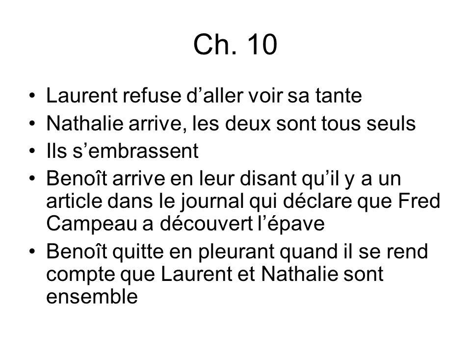 Ch. 10 Laurent refuse d'aller voir sa tante