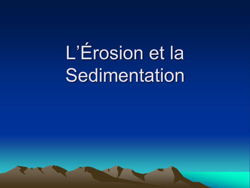 L'Érosion et la Sedimentation