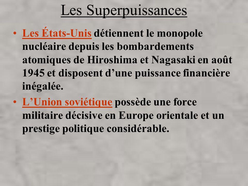 Les Superpuissances