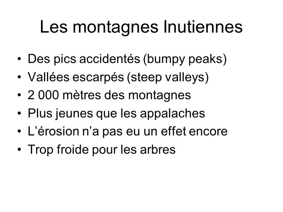 Les montagnes Inutiennes
