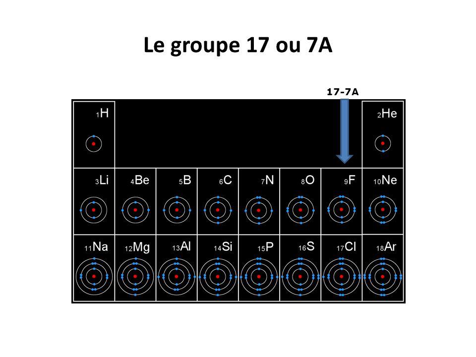 Le groupe 17 ou 7A 17-7A