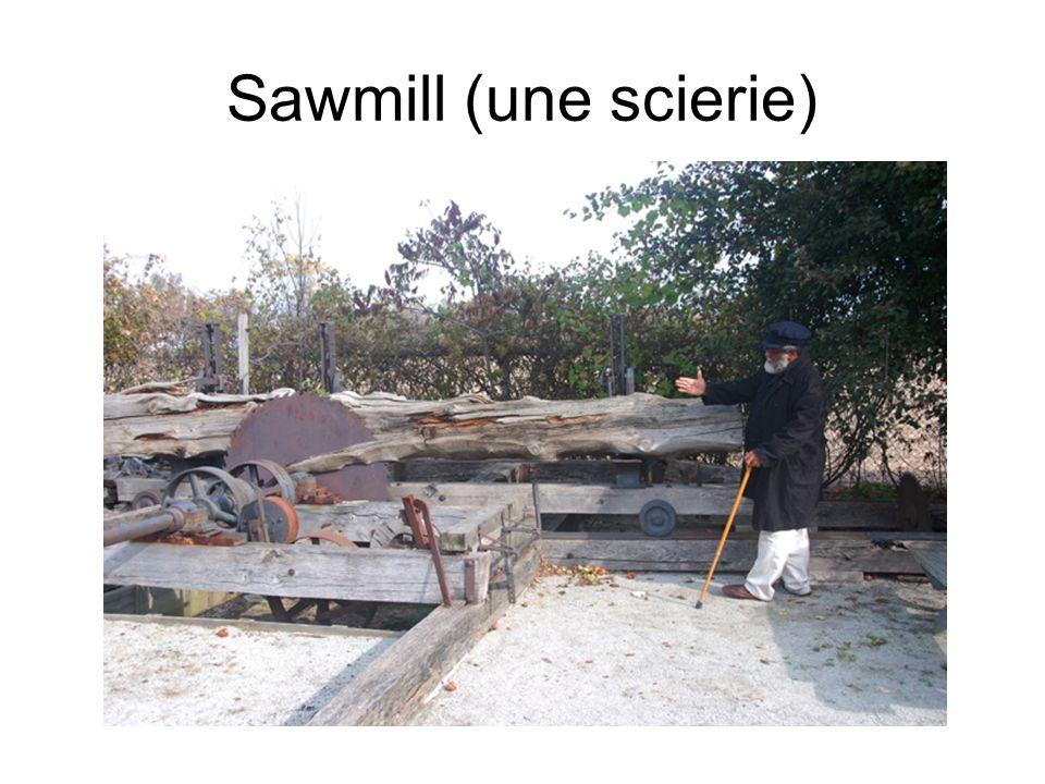 Sawmill (une scierie)