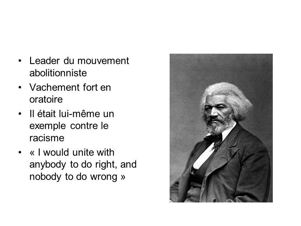 Leader du mouvement abolitionniste