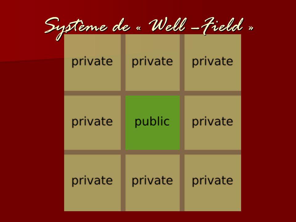 Système de « Well –Field »