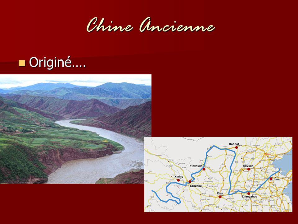 Chine Ancienne Originé….