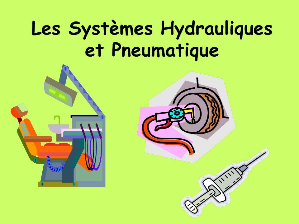 Les Systèmes Hydrauliques et Pneumatique