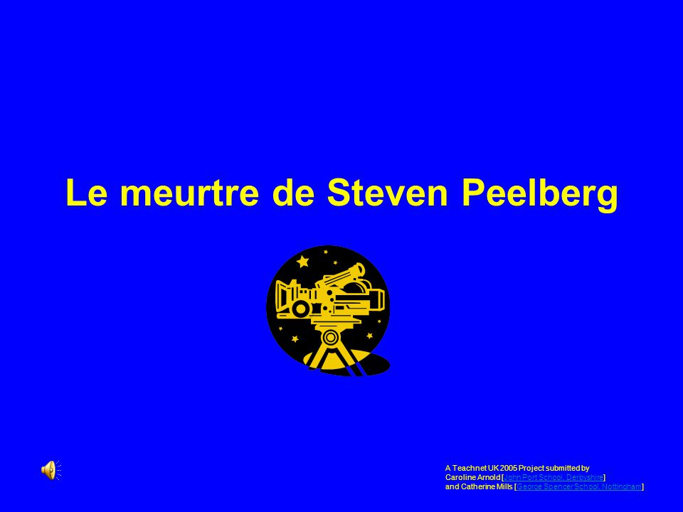 Le meurtre de Steven Peelberg