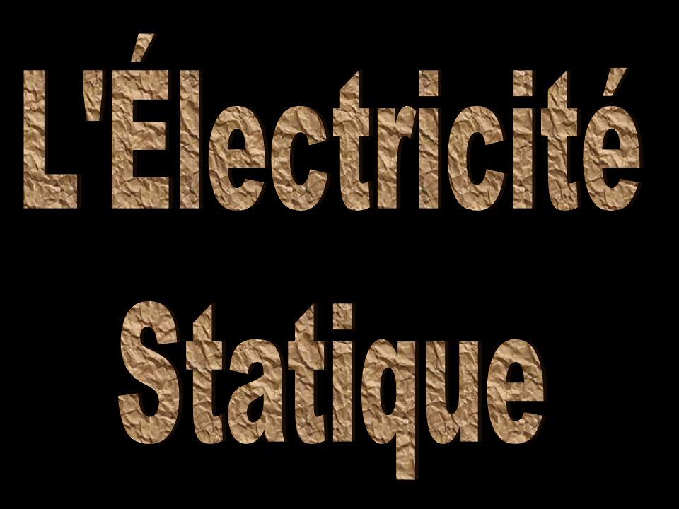 L Électricité Statique